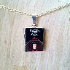 Flowers in the Attic - Literary Locket