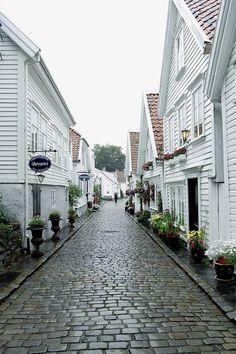 Stavanger, Norway. Lovely white