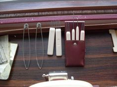 Tools for Vintage Knittax knitting machine- standard guage