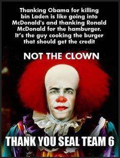 CLOWN....100% obama