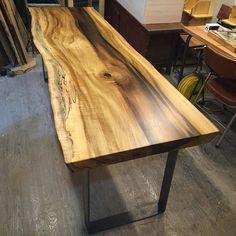 #부산#금정구#헤펠레목공방금정점 #원목테이블#떡판#튤립#wood#table#furniture #woodslab#woodslabtable #가구공방#원목가구#주문제작 by sjmssister