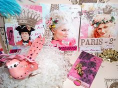 Marie Antoinette theme tea party or bridal shower