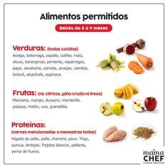 receitas de comida para bebê de 8 meses