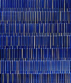 Nikola Dimitrov, KlangRäume II, 2013, Pigment, Bindemittel, Lösungsmittel auf Bütten, 105,5 x 89 cm