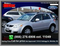 2012 Suzuki SX4 Crossover Premium Wagon  Front And Rear Suspension Stabilizer Bars, Floor Mats: Carpet Front And Rear, Rear Hip Room: 47.0, Tires: Profile: 60, Tires: Width: 205 Mm, Cloth Seat Upholstery,