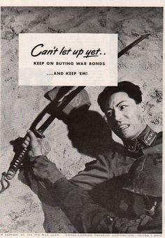 1945 Japanese Samurai Sword Photo World War II Vintage WWII Bonds Print Ad Print Advertising, Print Ads, Poster Ads, Movie Posters, Ww2 Propaganda Posters, Toledo Ohio, Samurai Swords, World War Two, Vintage Advertisements