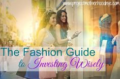 Not sure what to spend your money on when you're shopping? What's worth the extra cash? Read our fashion guide to investing wisely and you will be much more informed! via @projmotherhood www.projectmotherhoodnyc.com #fashion #investing #shopping