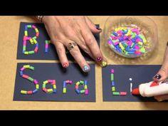 6 manualidades para niños con pajitas - Discreet Tutorial and Ideas