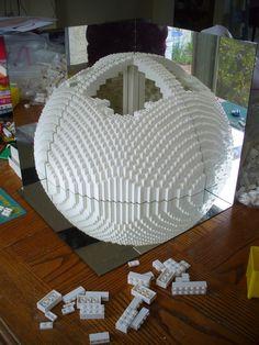 Dreaming in White Lego Building, Model Building, Lego Math, Lego Custom Minifigures, Lego Sculptures, Amazing Lego Creations, Lego Worlds, Lego Bionicle, Star Wars Fan Art