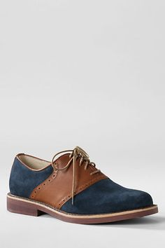 Men's Archer Classic Saddle Shoes from Lands' End