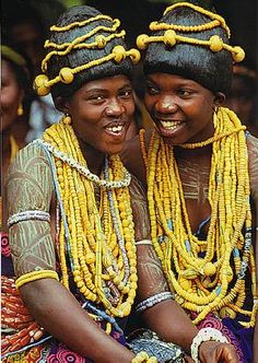 Krobo women from Ghana; © Carol Beckwith and Angela Fisher Black Is Beautiful, Beautiful World, Beautiful People, African Tribes, African Women, We Are The World, People Around The World, Ghana, Population Du Monde