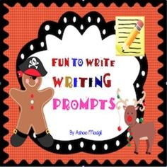 Writing Prompts can be used in your writing class in many ways that can be imagined. I find them as great tools to let children use their imagination in fun and easy way. Children love writing on these colourful and fun worksheets. Have Fun Teaching!! It contains the following prompts:  1. If I were a gingerbread pirate... 2 If I were Rudolph the red nosed reindeer... 3 If I were a giraffe with long neck... 4 If I were a dragon...