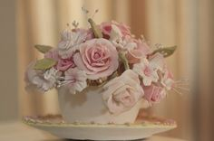 Real Weddings: A Vintage Tea party wedding with ton of DIY details.