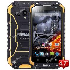 "IMAN I6 4.7\"" MTK6592 8-core Android Unlocked 3G Phone IP68 Waterproof Dust Proof Rugged Phone P084-IMI6"