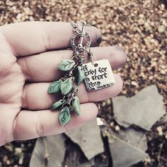 "Foster mom necklace, ""if only for a short time"" with leaves to represent each foster child by SoBeautifullyBroken on Etsy https://www.etsy.com/listing/222123783/foster-mom-necklace-if-only-for-a-short"