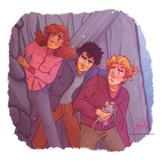 Harry Potter Trio by dangerjazz