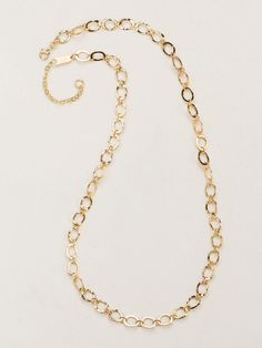 Avery Classic Necklace - Gold - 12123