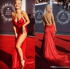 2017 Oscar Celebrity Red Carpet Runway Dresses Evening Wear With ...