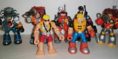 FISHER PRICE RESCUE HEROES LOT OF 12 Pieces SEE pics FREE Shipping in USA
