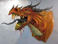 comment fabriquer un extraordinaire dragon en papier mâché