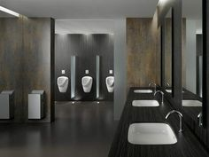 Axent Washrooms and Interiors are passionate about fulfilling any businesses washroom specifications and requirements. Here is a clean example of a washroom designed and fitted by the team. Contact us today for cost effective washroom solutions for all commercial settings. Washroom Design, Bathroom Interior Design, Man Bathroom, Bathroom Installation, Cost Saving, Bad, Commercial, Bathtub, Interiors