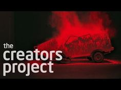 Laser-Pierced Car Crash Art - YouTube