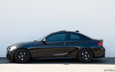 A Black Sapphire BMW M235i was at European Auto Source for some customization