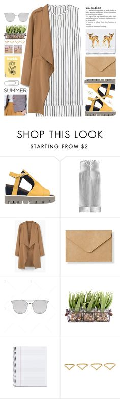 """Untitled #988"" by chantellehofland ❤ liked on Polyvore featuring Strategia, Brunello Cucinelli, MANGO, Muji, Ana Khouri, Polaroid and Bulgari"