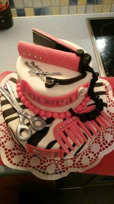 Hairstilist cake