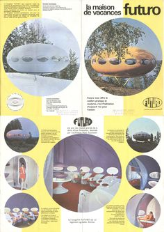 Futuro (house) designed by Finnish architect Matti Suuronen and produced between the years 1968-1974