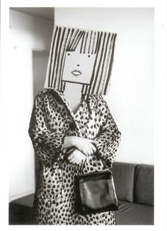 Saul Steinberg was a cartoonist for The New Yorker, and Inge Morath was a photographer. Steampunk Mode, Bühnen Design, Graphic Design, Inge Morath, Saul Steinberg, Plakat Design, Paper Mask, Photocollage, The New Yorker