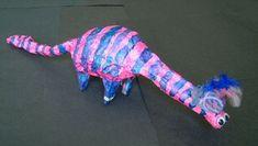 Paper Mache Dinosaurs Lesson