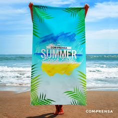 For summer buy the beach towels in Com-Prensa, with lovely prints and bright colours.  #manufacturer #barcelos #sweat #colours #tshirt #cotton #comprensa #fashion #model #fashion #design #company #textile #portugal #sublimation #screenprinting #digitalprint #laser #photoprint