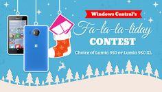 Enter Windows Central's Fa-la-la-liday contest for a free Lumia 950 or Lumia 950 XL!
