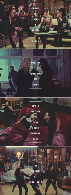 Orphan Black: Sometimes your world just crumbles around you, and you have to build something new from the pieces.
