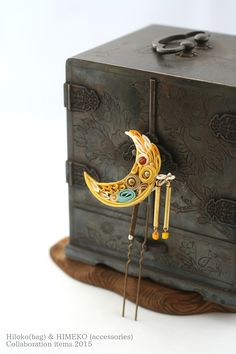 Japanese bag artists Hiloko &Silk accessories HIMEKO(facebookpage ja-jp.facebook.co... ) the 2nd collaboration work!!!
