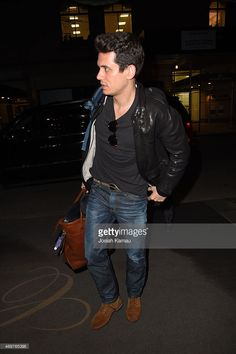 John Mayer seen out in Manhattan on APRIL 14, 2015 in New York, New York.
