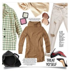 """""""Treat My Self <♡>"""" by zafiaida ❤ liked on Polyvore featuring Current/Elliott, Christian Louboutin, Uniqlo, Alexander Wang and Hollister Co."""