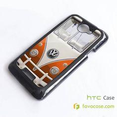 VW VOLKSWAGEN VAN Camper Combi HTC One X, M7, M8 Phone Case Cover
