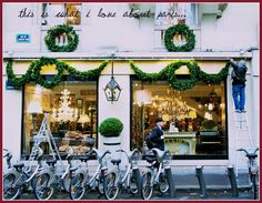 WHAT I LOVE ABOUT PARIS