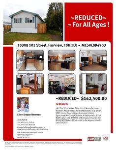 10308-101 Street, Fairview AB  MLS#L094903