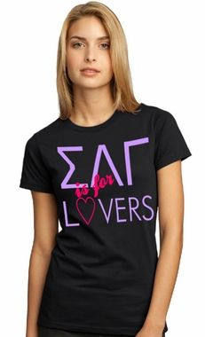Sigma Lambda Gamma Is For Lovers T-Shirt