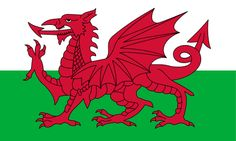 "bandera ""y ddraig goch"" de Gales / ""y ddraig goch"" flag of Wales Union Jack, Y Ddraig Goch, Wales Country, Dragon Rouge, Welsh Language, Saint David's Day, Welsh Dragon, Wales Uk, North Wales"