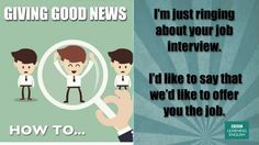 How to… give good news