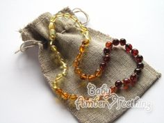 13.4 Inches Genuine Amber Necklace from Baltic Sea Made with Unpolished Cherry Polished Cherry and Apatite 34 cm