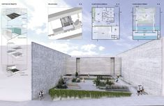 Térreo Arquitetos - concurso memorial às vítimas da kiss - santa maria (rs) Santa Maria, Floor Plans, Architects, House Floor Plans