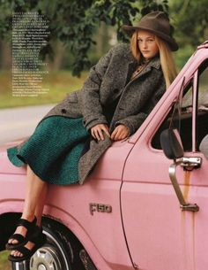 Jean Campbell by Bruce Weber for Vogue UK October 2013