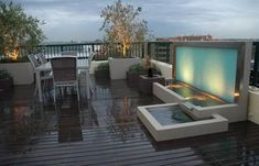 pretty rooftop space