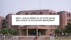 Medvarsity Online Limited, an online medical education organization established by the Apollo Hospitals Group, has joined forces with Amity University to dispatch another program, Master of Business Administration(MBA) in Hospital and Healthcare Management.