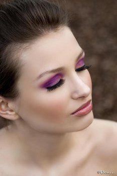 Wedding, Pink, Purple, Makeup, Bridesmaids, Stephanie the makeup artist